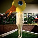 え?!この奇妙なオブジェは…台北駅の中にある「夢遊 Daydream」